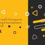Bing'in Web Tarayıcısı JavaScript Taramasını Geliştirdi