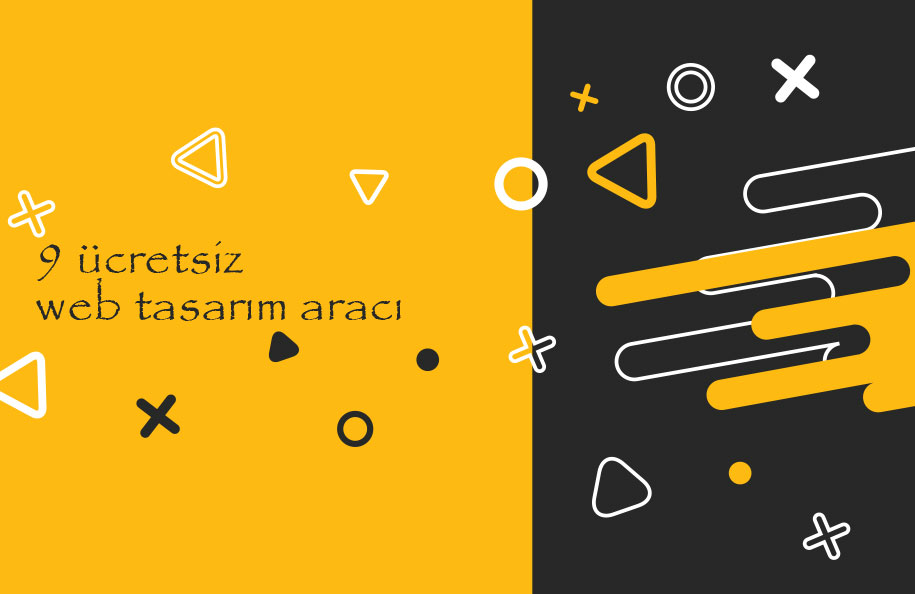 Ücretsiz 9 web design tools