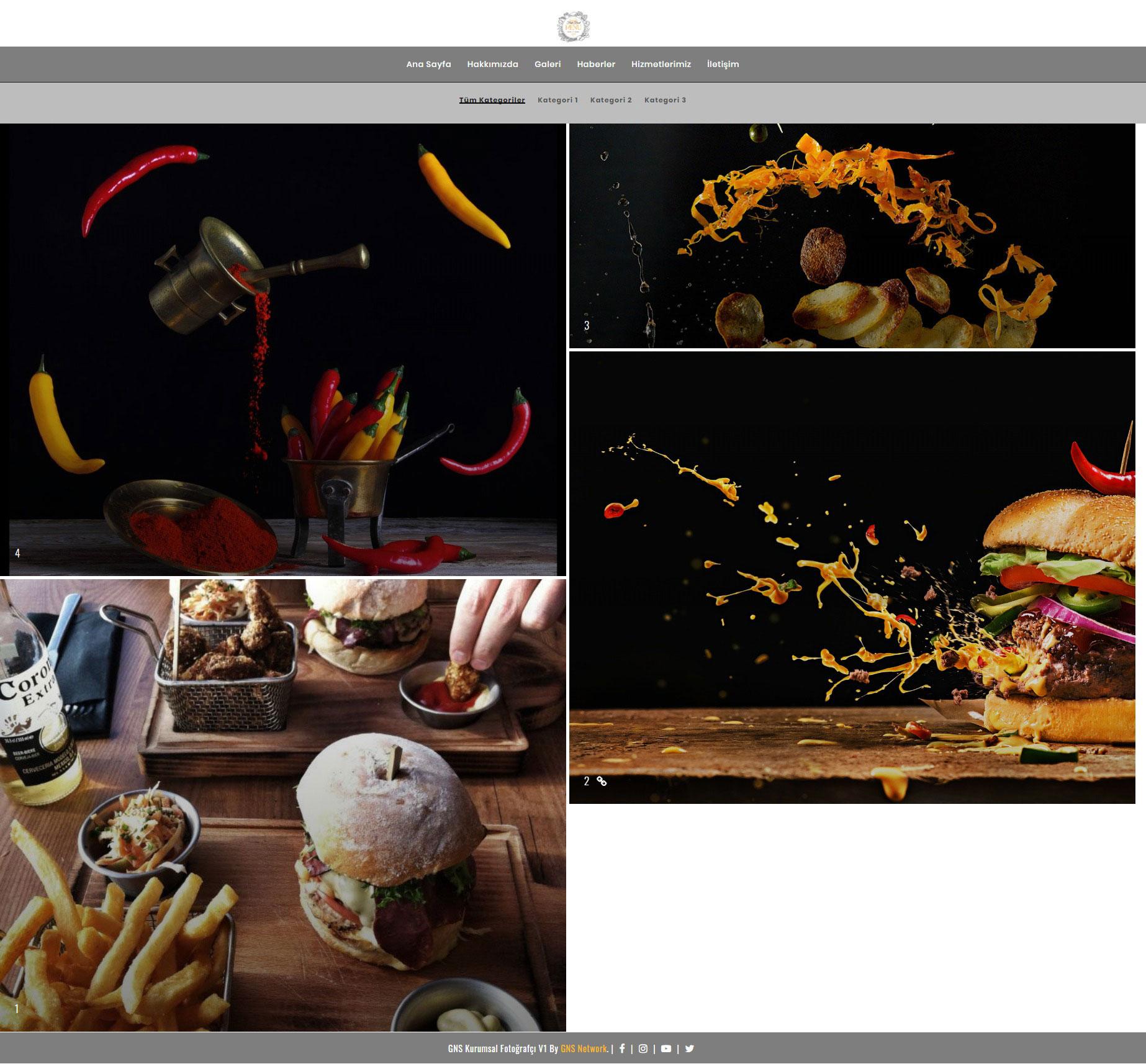 GNS Cafe & Fast Food Sitesi Yazılımı 3