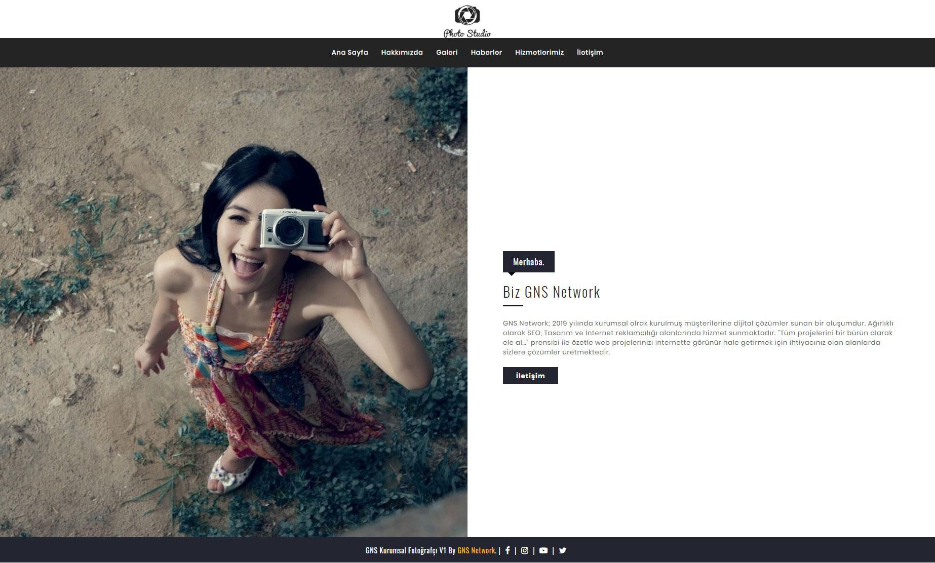 GNS Fotoğrafçı Sitesi Yazılımı 2