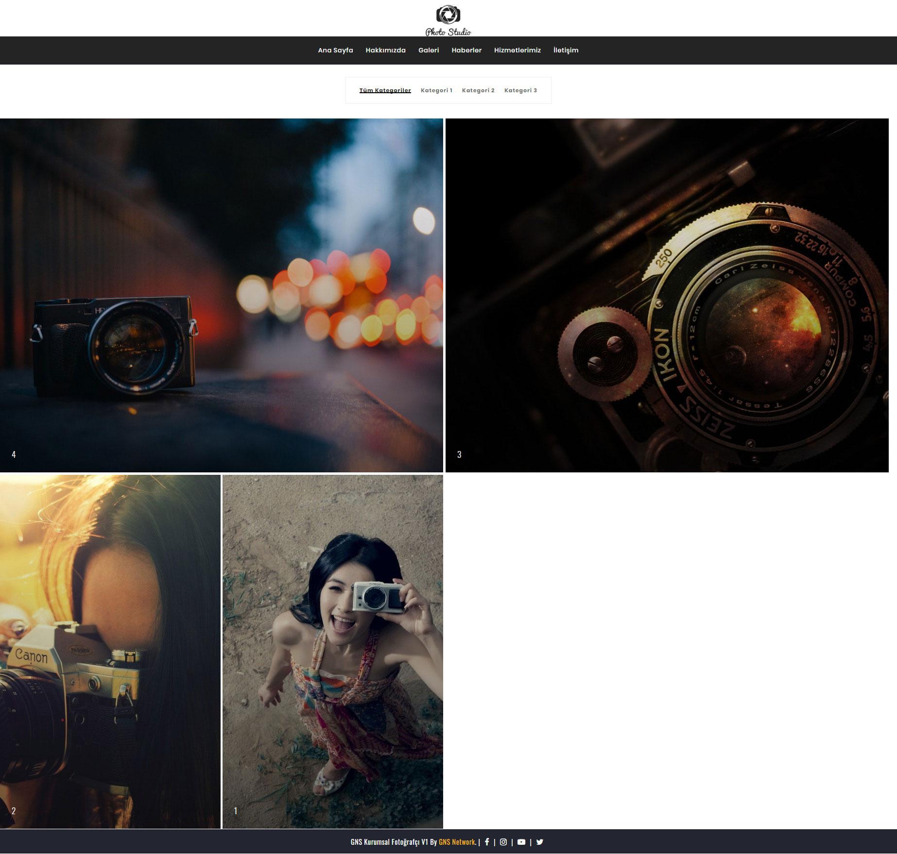 GNS Fotoğrafçı Sitesi Yazılımı 3