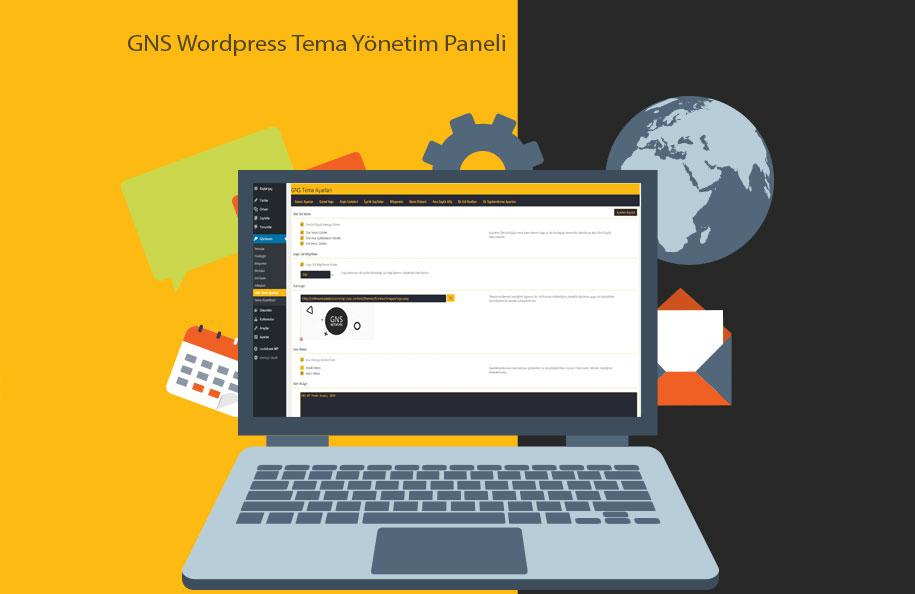 GNS Wordpress Tema Yönetim Paneli