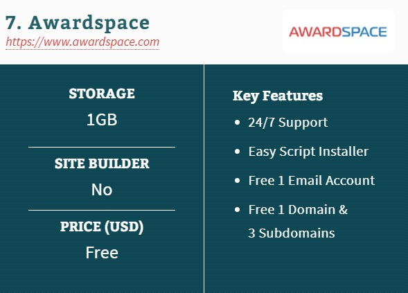 7. Awardspace