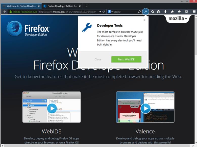 Firefox Geliştirici