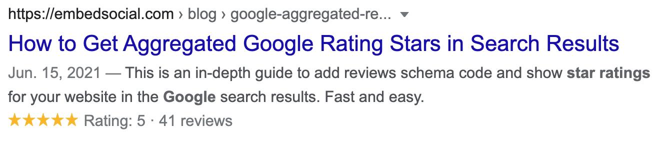 """Standart """"Mavi Bağlantı"""" Listeleri ve Google Yıldızları"""
