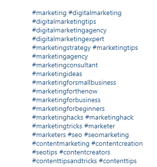 İlgili İçeriği Keşfetmek için Instagram Hashtag'lerini Arayın